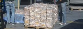 Detenido un vecino de Ibiza a bordo del velero que trasladaba 600 kilos de cocaína