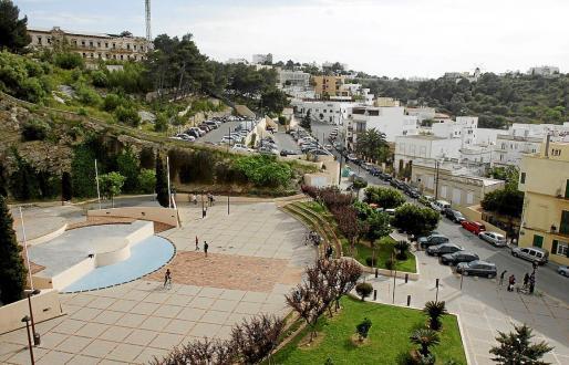 Imagen de archivo del parque Reina Sofía.