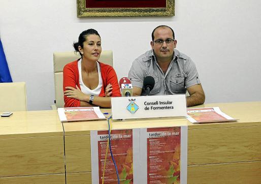 Sergio Jiménez junto a Silvia Tur en una imagen de archivo de 2011, cuando ambos eran consellers insulars.