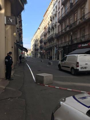 Al menos ocho heridos en una explosión en el centro de Lyon.