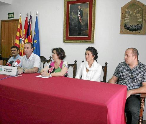 Sergio Jiménez, primero por la derecha, en una imagen de archivo.