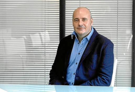 José Luis Benítez, gerente de Ocio de Ibiza en las instalaciones de Grupo Prensa Pitiusa en una imagen de archivo