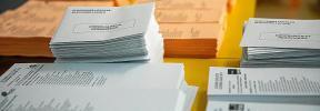 Confusión y consultas por la falta de intimidad en los colegios electorales