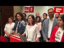 Noche electoral en el PSIB-PSOE tras la victoria del 26A
