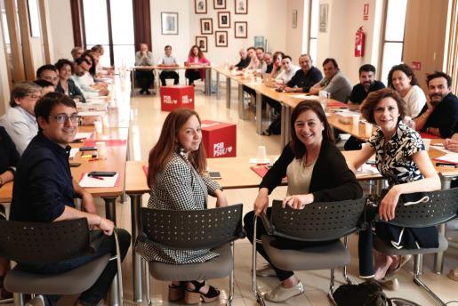 La Ejecutiva del PSIB-PSOE se ha reunido este lunes para analizar los resultados de las elecciones.