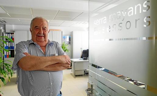 Emprendedor. Joan Serra Mayans pasó por diversos negocios e incluso se dedicó al mundo político durante cuatro años.