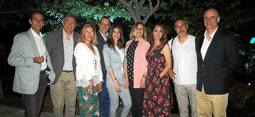 Carlos Alemán, Juan Cifuentes, Gema Muñoz, Sebastián Munar, Ana Kellner, Águeda Ropero, Vanessa Sánchez, Jaime Reina y Antonio Ortiz.
