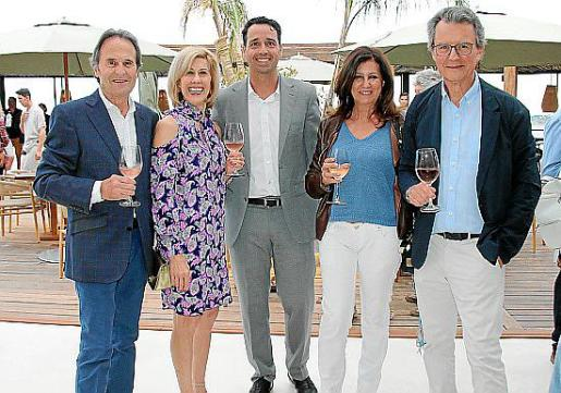 José Castillo, Doreen de Mattei, Xavi Fuster, Victoria Román y Enric Munt.