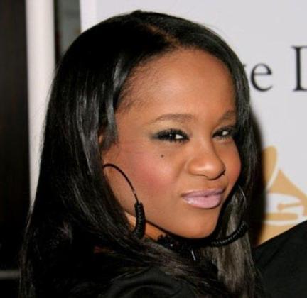 La hija de la desaparecida Whitney Houston, Bobbi Kristina, en una imagen de archivo.