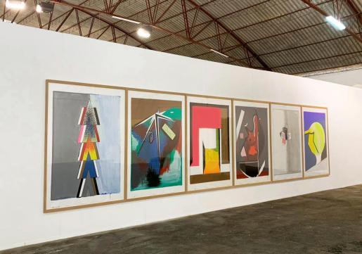 La galería Parra & Romero acoge hasta el próximo 28 de septiembre distintas obras creadas por el conocido artista alemán Thomas Scheibitz.