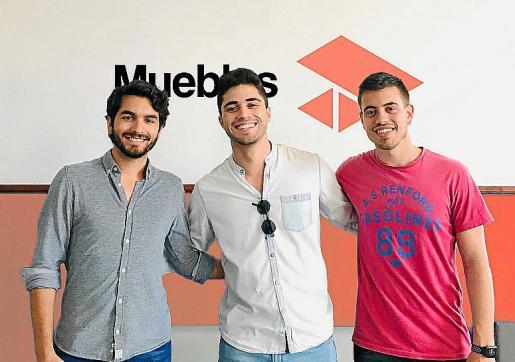 Aitor Roca, Felipe Ramis y Alberto Gelabert.