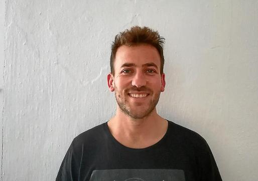El emprendedor Miguel Cardona, en Menorca.