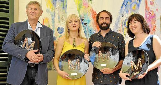 Xavier Gimeno, Bàrbara Duran, Josep Tomàs París y Laia Carbonell.