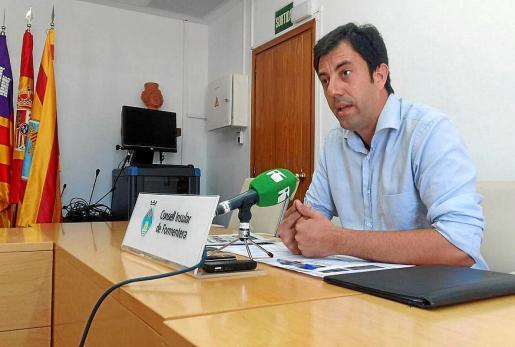 Isidor Torres, gerente del Consell de Formentera, acudió el lunes a declarar como testigo.