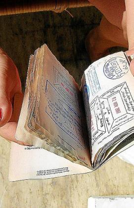 Pasaporte conseguido por un apátrida.