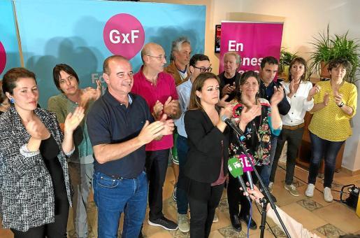 Imagen de la celebración de GxF en las últimas elecciones autonómicas, insulares y municipales.