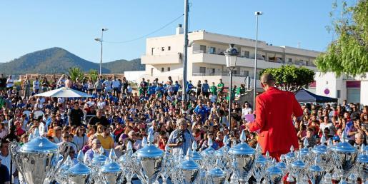 La Fiesta del Fútbol abarrotó Sant Jordi.