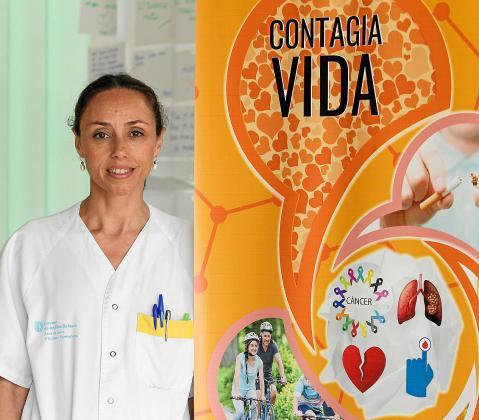 La enfermera Ana López García.
