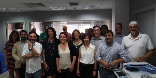 Los concejales del nuevo equipo de gobierno del Consell de Formentera.