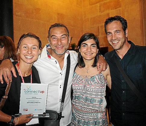 Petra Mestre, Jaime Mestre, Lida Oliva y Borja Moll.