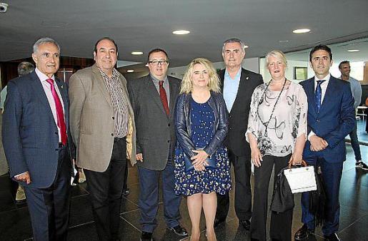 Juan Ribas, Antoni Roca, Miguel Roca, Ester Micó, Mateo Zanoguera, Dolors Subervilles y José Antonio Galdón Ruiz.