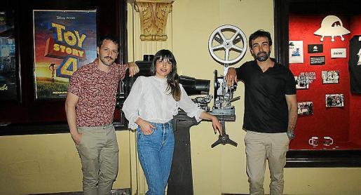 Miguel Ángel Jiménez, Antonia Payeras y Xavi Núñez.