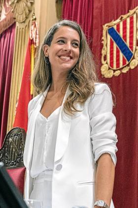 Gloria Santiago es vicepresidenta primera del Parlament balear.