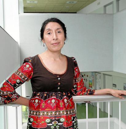 La doctora Marta Gamarra.
