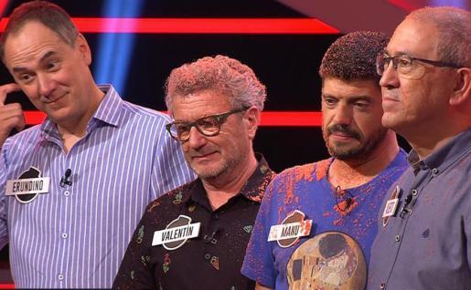 Manu, Valentín, Erundino y Alberto se alzan con el premio.