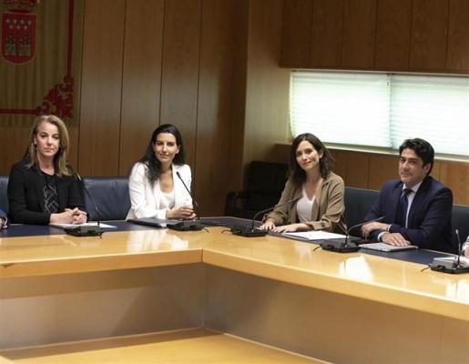 Vox rompe las negociaciones con PP en la Comunidad de Madrid.