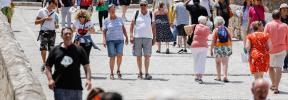 El número de habitantes de Balears se dispara y sube un 70 por ciento en 30 años