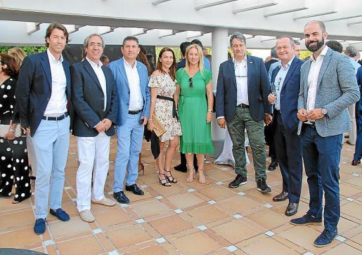 Biel Calvo, Ángel Palomino, Xisco Fullana, Maria Antònia Llull, Antònia Plomer, Antoni Homar, Mark Nüschem y Bernat Vicens.