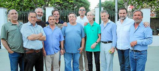 Miguel Muntaner, Juan Moragues, Diego Navarro, Ángel Lillo, Pep Pellicer, Óscar Fornés, Pedro Vidal, Pep Miró, Baltasar Martín, Jaume Simonet y Paco Fernández.