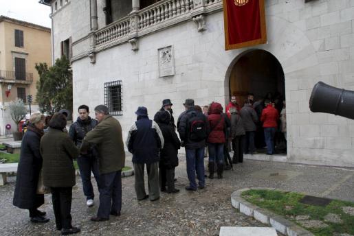 Los ciudadanos pueden conocer el Consolat de Mar, que abre sus puertas con motivo del Dia de les Illes Balears.