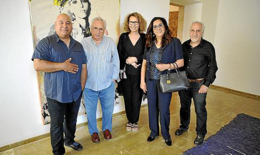 Imad Mansour, Guillem Frontera, Mounat Charrat, Nezha Attahar y Vicenç Torres.