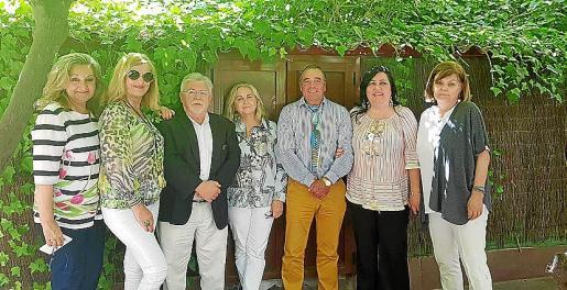 Magdalena Grúa, Bárbara Pons, Miguel Ángel Herranz, Juana Mas, José Barceló 'Campanilla', Soledad Hidalgo y Ascensión Verd.