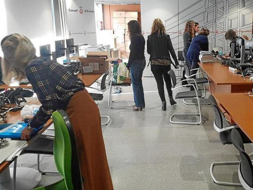 El juicio se celebró ayer en las instalaciones provisionales del juzgado de lo Penal en el Consell de Ibiza.