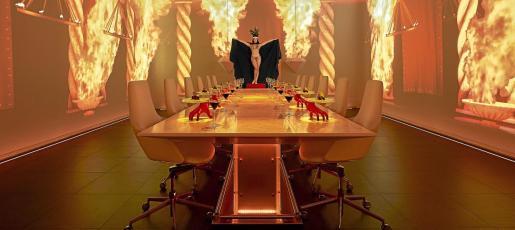Cada plato supone un viaje a un espacio nuevo, como descender al infierno a ritmo del conocido grupo de música AC/DC.