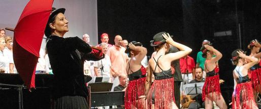 Una escena de los diferentes espectáculos musicales y teatrales de 'La magia soñada'.