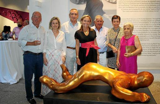 Gunnar Dahl, Ketty Magraner, Carlos Simarro, Francesca Martí, Joan Albertí, Carmen Serra y María de Lluc Vicens.