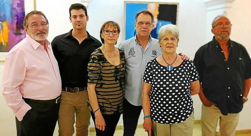 Juan Manuel Pastor, Simón Alzamora, María Luisa Torres, Manuel Gómez, Cruz García y Joan Barceló.