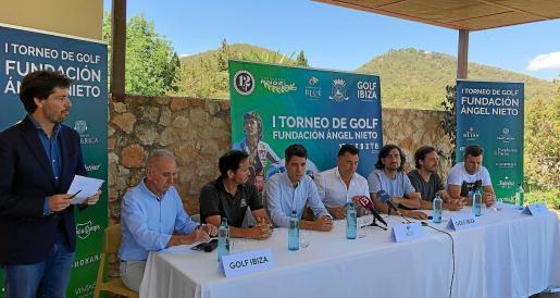 La presentación del I Torneo de Golf Fundación Ángel Nieto tuvo lugar ayer en las instalaciones de Golf Ibiza.