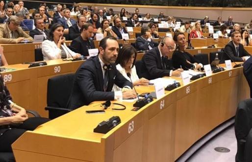 Bauzá en el Parlamento Europeo