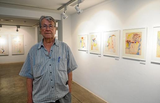 La presentación del catálogo tuvo lugar en Sa Nostra Sala, junto a las obras que forman parte de su exposición retrospectiva.