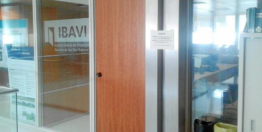 Imagen de archivo de las oficinas del Institut Balear de l'Habitatge del Govern de les Illes Balears (Ibavi) en Ibiza,