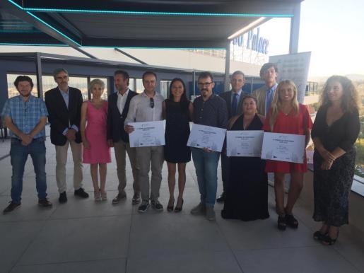 Imagen de la entrega de los premios de la Asociación de Periodistas de Balears.