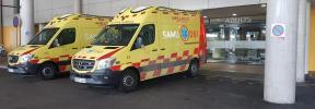 Un conductor ebrio arrolla a una madre y dos niños en Palma