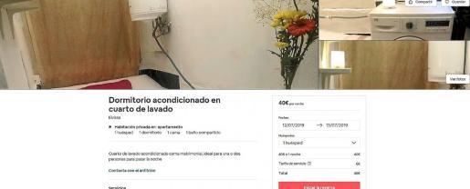 Plataformas como Airbnb continúan publicando anuncios de alojamientos turísticos ilegales pese a que la Ley Turística prohíbe que se alquilen pisos o habitaciones de pisos particulares a turistas.