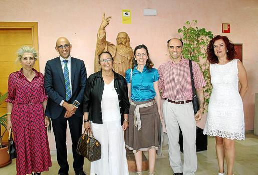 María Magdalena Frau, Antonio Sánchez-Grao, Grace García, Teresa Jiménez, Miguel Quetglas y Rosa Rodríguez.