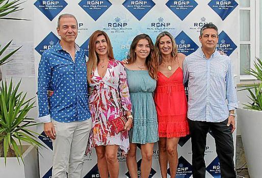 Toni Torres, Marga Guasp, Laura Torres, Fanny Serra y Joan Mayol.